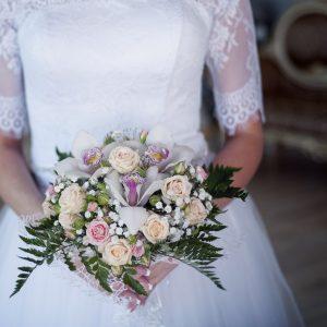 Netted Wedding Dress